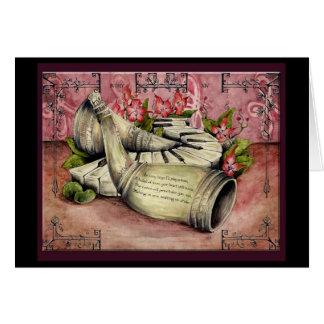 Ivory Wedding Anniversary: Jupigio-Artwork.com Greeting Card