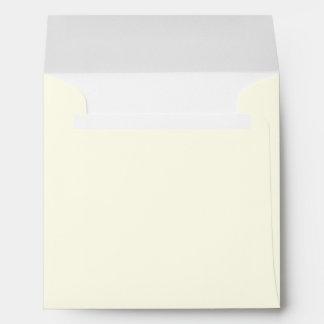 Ivory White Envelope