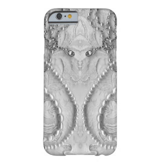 Ivory White Girly Lace And Purls Barely There iPhone 6 Case