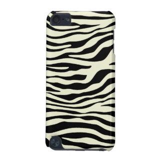 Ivory Zebra Stripes Animal Print iPod Touch 5G Case