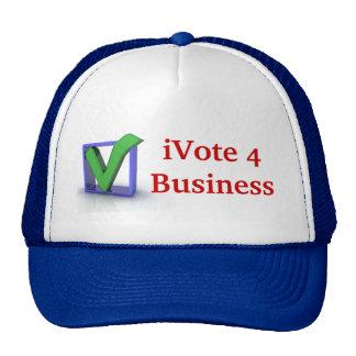 iVote 4 Business Cap Trucker Hat