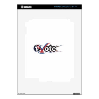 iVOTE Decal For iPad 3