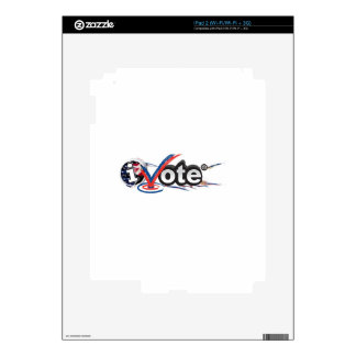iVOTE Decals For iPad 2