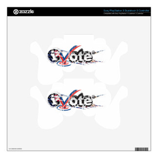 iVOTE PS3 Controller Decal