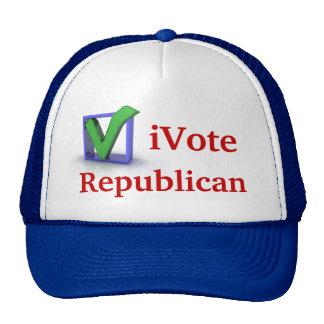 iVote Republican Cap Trucker Hat