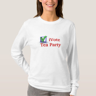 iVote Tea Party T-Shirt