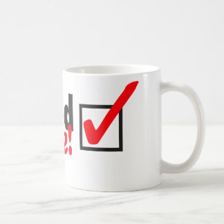 iVoted Twice! Presidential Candidate Here! Coffee Mug