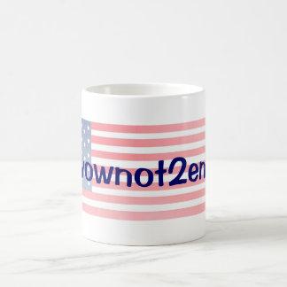 #Ivownot2enroll with Stars Coffee Mug