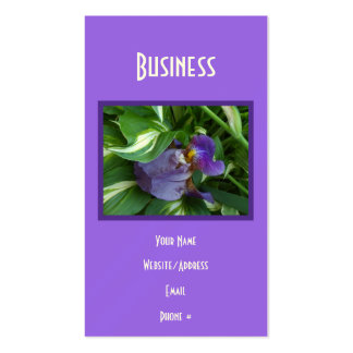 Ivy and Iris Business Card