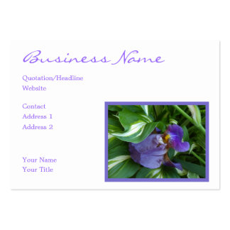 Ivy and Iris Large Business Card