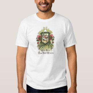 Ivy and Mistletoe Vintage New Year T-shirt