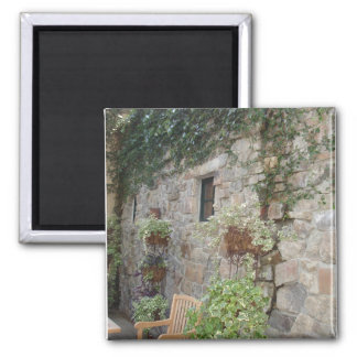 Ivy and stone retreat 2 inch square magnet