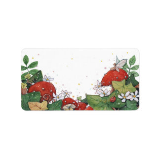 Ivy and Toadstool Labels