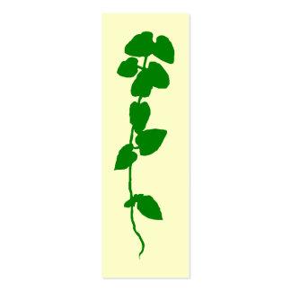 Ivy bookmark mini business card