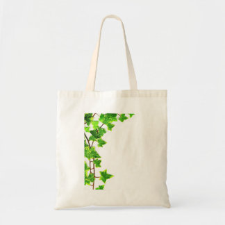 Ivy Border Against A White Background Tote Bag