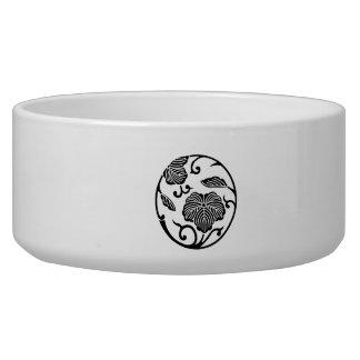 Ivy branch circle bowl