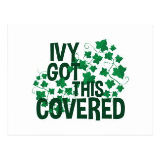 Ivy Covered Postcard