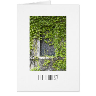 Ivy Covered window Cards