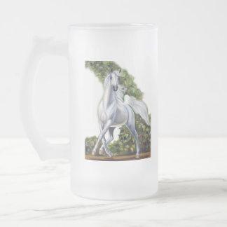 Ivy Dance Frosted Glass Beer Mug