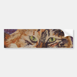 Ivy  Face Painting Bumper Sticker