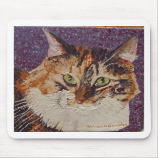 Ivy  Face Painting Mouse Pad