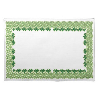 """""""Ivy Forever"""" placemat, large Cloth Placemat"""