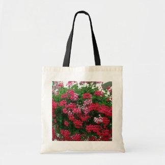 Ivy Geranium (Pelargonium Peltatum) flowers Budget Tote Bag