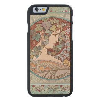 Ivy godess carved maple iPhone 6 case