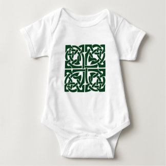 Ivy Green Celtic Knotwork Baby Bodysuit