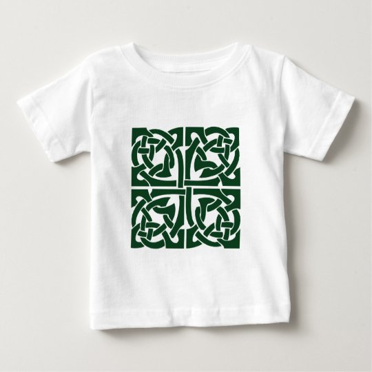 Ivy Green Celtic Knotwork Baby T-Shirt