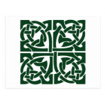 Ivy Green Celtic Knotwork Postcard