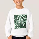 Ivy Green Celtic Knotwork Sweatshirt
