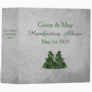 Ivy Green Ladies Lesbian Handfasting Album Vinyl Binders