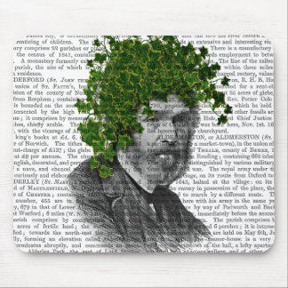 Ivy Head Plant Head Mouse Pad