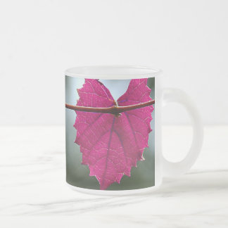 Ivy Heart Frosted Mug