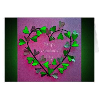 Ivy Heart Valentine's Day Card