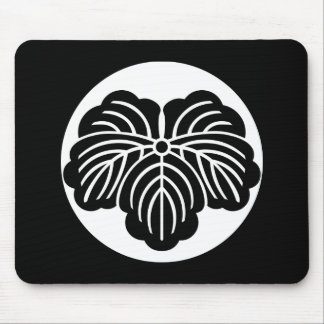 Ivy leaf in rice cake mouse pad