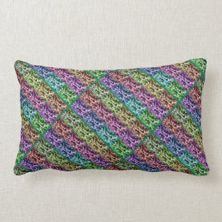 Ivy Leaf Photo Progression Diagonal Lumbar Pillow