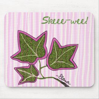 Ivy Leaf Sun Mouse Pad