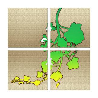 Ivy-leaved Flax Canvas Print