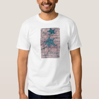 Ivy Leaves Distressed  T shirt