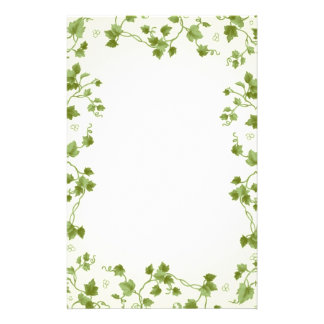 Ivy leaves Stationery