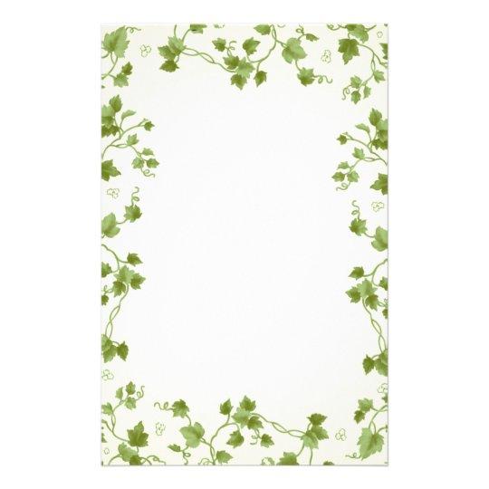 ivy leaves stationery zazzle com