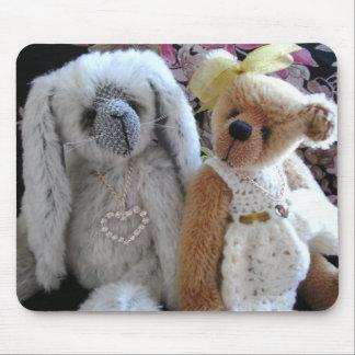 Ivy & Lulu by Wee Darlin Bears Mouse Pad