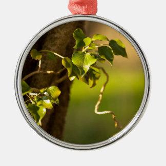 ivy metal ornament