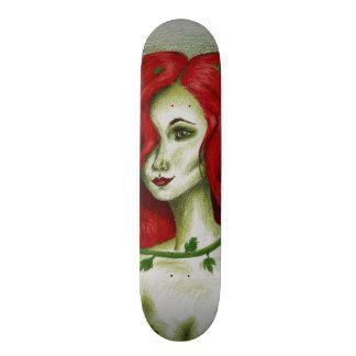 Ivy Nymph Redhead Fantasy Original Art Skate Deck