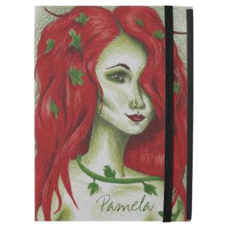 Ivy Nymph Redhead Woman Pixie Fantasy Art iPad Pro Case