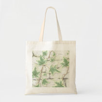 Ivy on a Dry Stone Wall in Colour Pencil Tote Bag