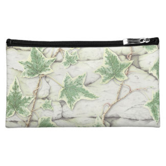 Ivy on a Dry Stone Wall in Pencil Cosmetic Bag