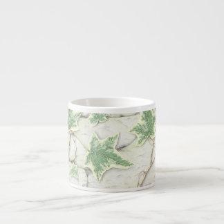 Ivy on a Dry Stone Wall in Pencil Espresso Mug